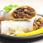 Burritos de Cordero y Frijoles