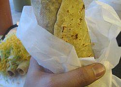 Arroz especial para Burritos Mexicanos