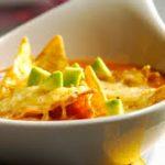Sopa Mexicana de Verduras con Nachos