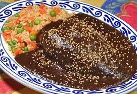 Recetas de platillos mexicanos mole