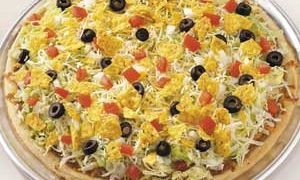 Pizza al estilo mexicano