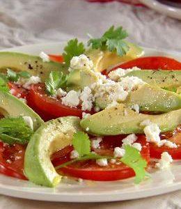 Ensalada de Tomate al estilo Mexicano