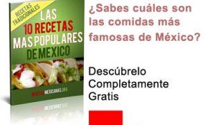 Ebook Las 10 Recetas Más Populares de México