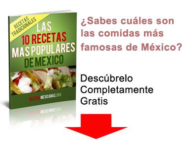 Ebook de recetas mexicanas portada