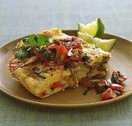 Omelette de Patata a la Mexicana
