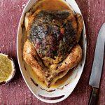 Pollo Relleno con Queso, Espinaca y Champiñones