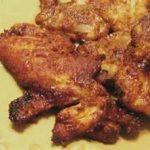 Pollo al Horno en Salsa de Cacahuate