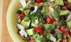 Ensalada de Quinoa a la Mexicana