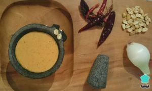 Salsa Picante de Cacahuates