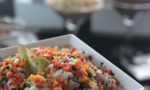 Ceviche de tilapia