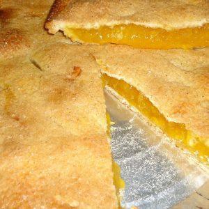 Tarta de piña y queso crema